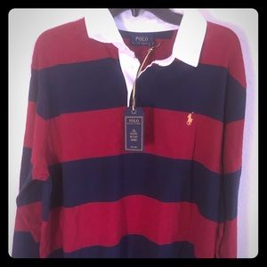POLO RALPH LAUREN  Iconic Rugby Shirt Classic Fit